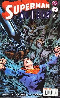SUPERMAN vs ALIENS 2 - PARTE 02 - EDITORA MYTHOS